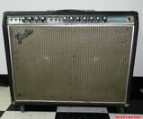 1968 Fender Twin Reverb Guitar Amplifier AB763 Silverface