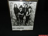 Doc Holliday Signed Band Picture