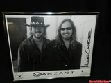 Van Zant Signed Band Picture