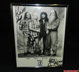 Barefoot Servants Signed Band Picture