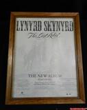 Lynyrd Skynyrd Album Release Poster