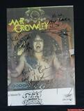 Ozzy Osbourne Signed Mr Crowley Album Poster