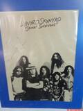 Lynyrd Skynyrd Street Survivors Signed Magazine Page