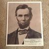 Hand Printed Photograph- Lincoln