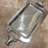 Steer Pewter Serving Tray