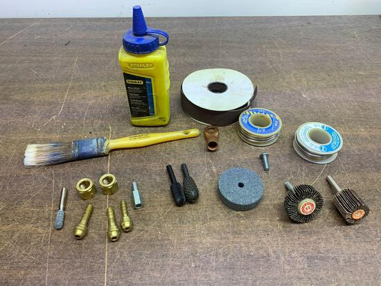 Miscellaneous tool accessory lot