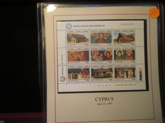 Cyprus Stamp Page