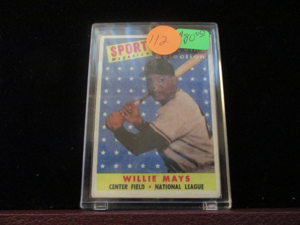 Willie Mays #486 Card