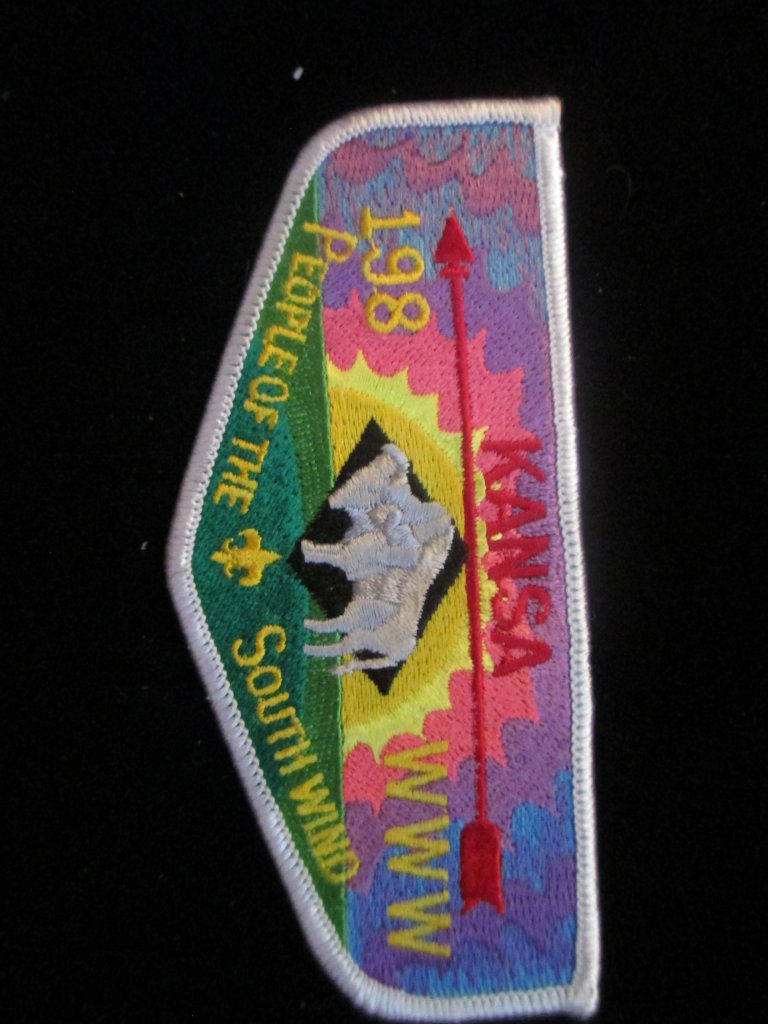 Kansa 198 People Of The South Wind Www Boyscout Patch