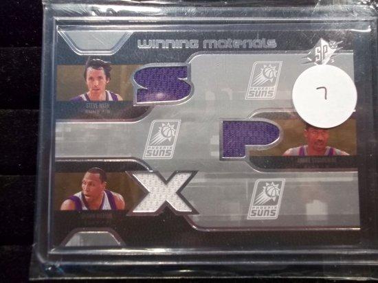 Phoenix Suns Triple Jersey Dual Color Steve Nash, Amare Stoudemire, Shawn Marion