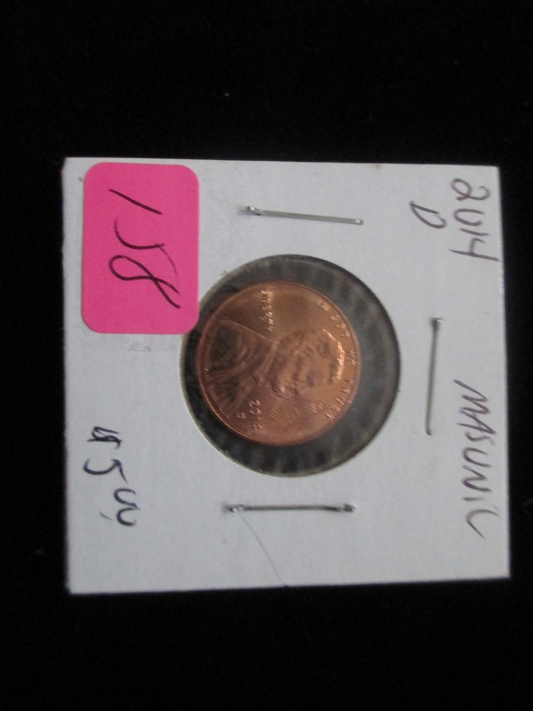 20014d Masonic Penny