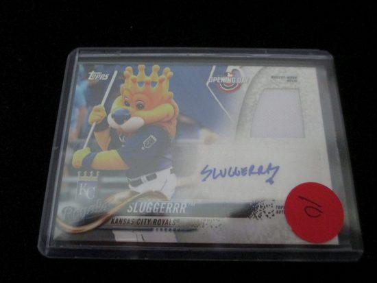 Sluggerrr Jersey Card Kansas City Royals