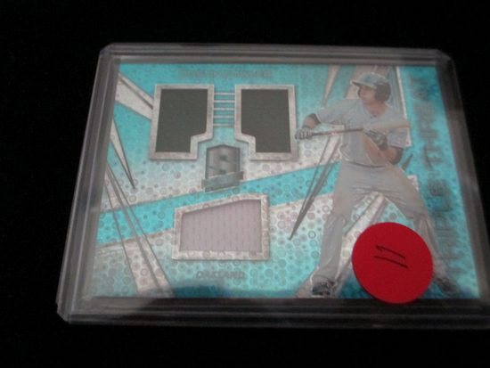 Dustin Fowler Triple Threat Jersey Card And Numbered 81/99