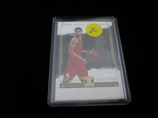 Zach Lavine Chicago Bulls Impeccable Numbered 04/10