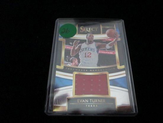 Evan Turner Select Jersey Card