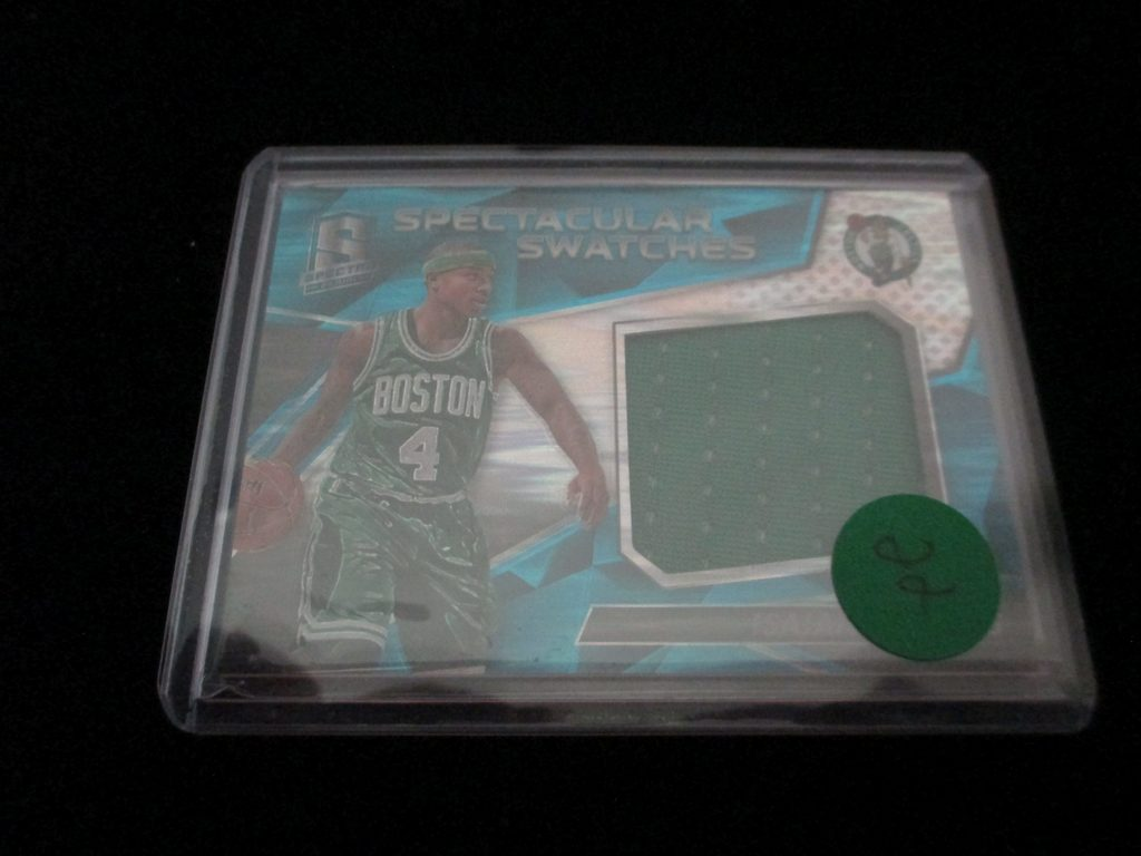 Spectacular Swatches Boston Jersey Card And Numbered 40/99