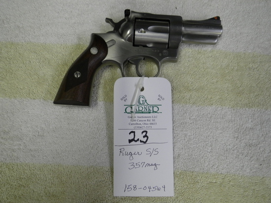 RUGER SECURITY SIX  357 MAG. # 158-04564