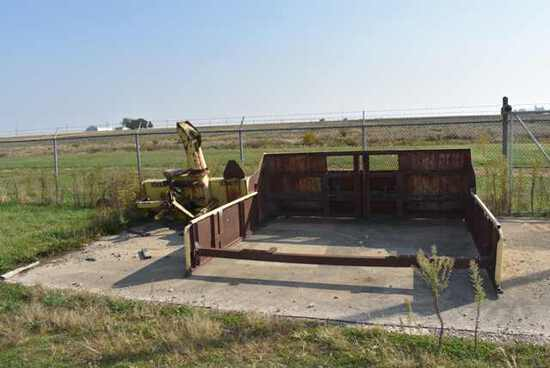 (Located in Mendota, IL) Schulte Plow/Pusher Inclu