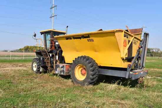 (Located in Mendota, IL) OXBO Model #2440 Dump Chi