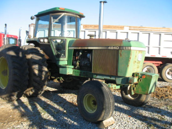 JD 4840 Tractor | Heavy Construction Equipment Construction
