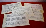 Assorted Hanna-Barbera Drawings