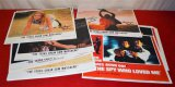 Various Lobby Cards (some signed)