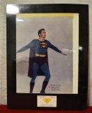 Superman Signed Photo