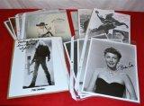 Various signed photos