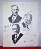 Signed Paramount Pictures Poster