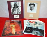 4 Signed/Mounted Photos
