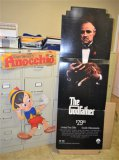 2 Cardboard Movie Displays