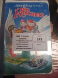The rescuers Vcrs  Movies