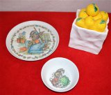 Candy Jar and Plate/ Bowl Set