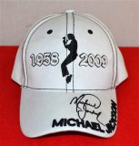 White Michael Jackson Rememberance Hat