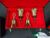 MALMARK 3 OCTAVE HAND BELL SET W/CASES & FOLDING TABLES, PADS, FOLD OUT 3 RING MUSIC HOLDER Image 1