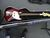 FENDER JAZZ BASE GUITAR S/N MZ1120005 W/ PEAVY AMP KB/A-100 W/CASE, CORD & STAND Image 1