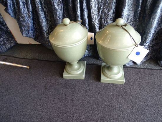 ASIAN GREEN CRACKLED (X2)  RETAIL $840