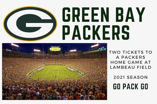 GO PACK GO! Pair of Green Bay Packers Tickets