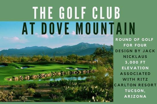Golf Club at Dove Mountain in Tucson, AZ (Association with Ritz Carlton Resort)