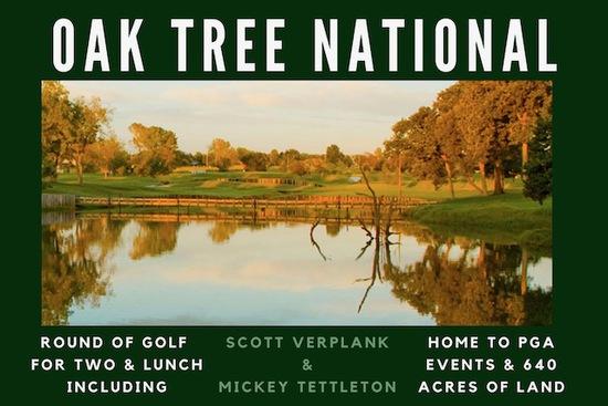 Golf at Oak Tree National with Scott Verplank & Mickey Tettleton