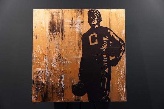 """Tradition"" Custom Jim Thorpe Painting by SHare Fine Art"