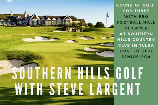 Golf at Southern Hills Country Club with Steve Largent