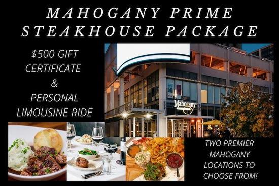 Mahogany Prime Steakhouse Dinner & Limo