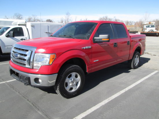 2012 FORD F150 4X4