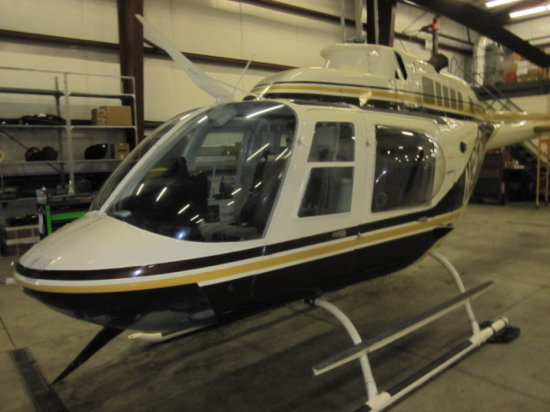 1984 BELL 206B III HELICOPTER
