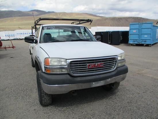 2001 GMC 2500HD UTILITY