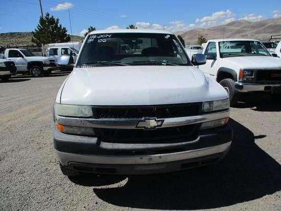 2002 CHEV 2500HD PICKUP