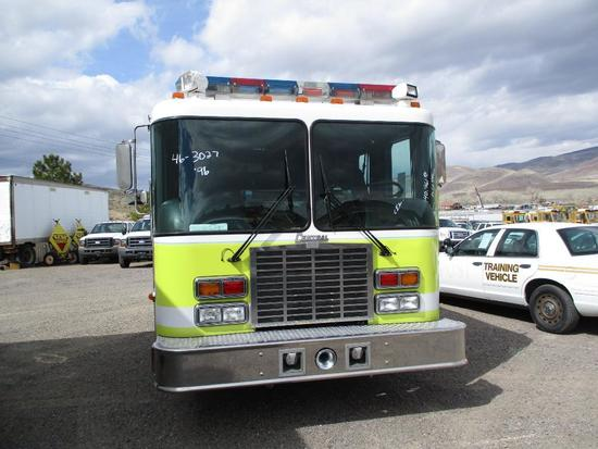 1996 HME 4265 400 FIRE TRUCK