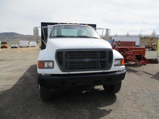2000 FORD F-750 FLATBED