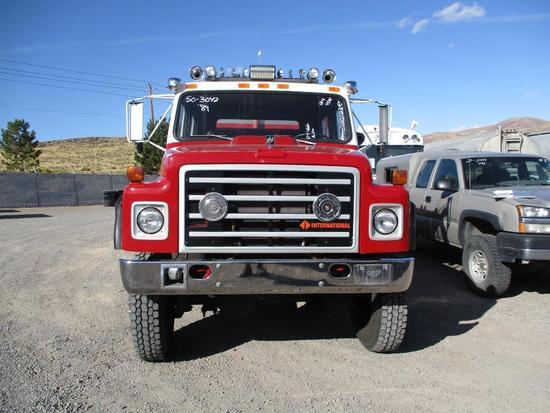 1989 INTL 1854 FIRE TRUCK